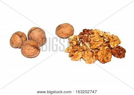 Walnut. Walnut useful, rich in nutrients. Big, beautiful to look at the nut. The kernels are large, light walnut.