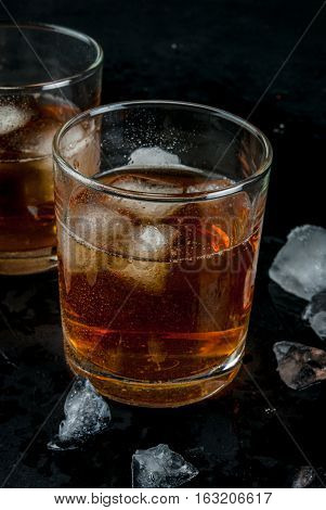 Alcohol Cocktail - Whiskey And Cola