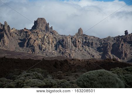 Teide National Park Tenerife - the most spectacular travel destination lava and volcano
