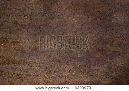 Texture of an old teak table / closeup