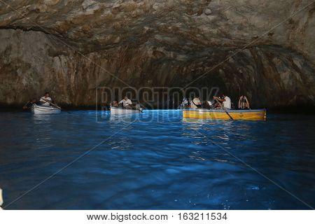 Grotta Azzurra, Capri