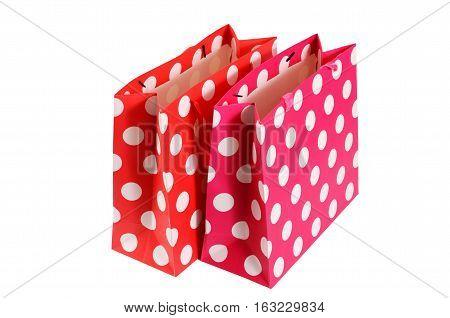 Shopping Bag Isolated On White Background