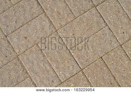 Paving Slabs Close Up As Background