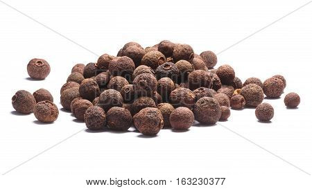 Pile Of Allspice-pimenta Dioica Fruits, Paths