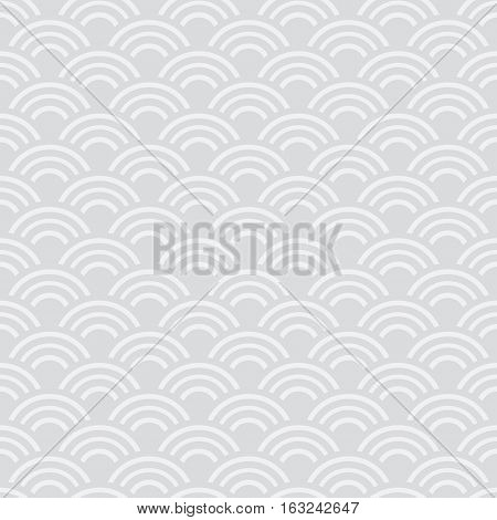 Chinese seamless pattern Vector illustration. Symbol Wave Image. Abstract chinese new year background vector design