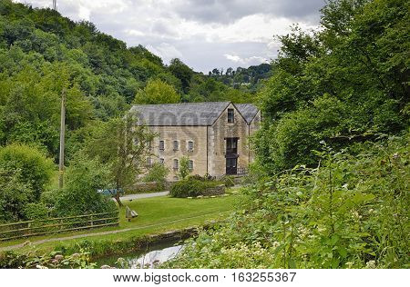 Belvedere Mill & Thames & Severn Canal Chalford Stroud Gloucestershire