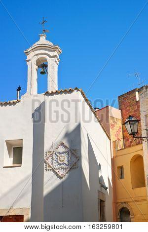 Historical church of Rutigliano. Puglia. Southern Italy.