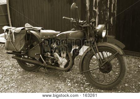 Vintage Norton Military Bike #2