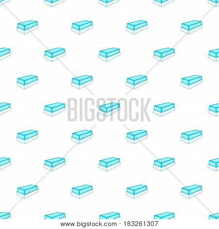 Tomb pattern. Cartoon illustration of tomb vector pattern for web