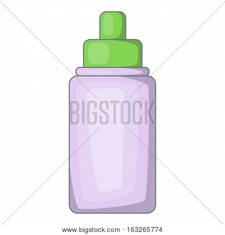 Nasal drops icon. Cartoon illustration of nasal drops vector icon for web design