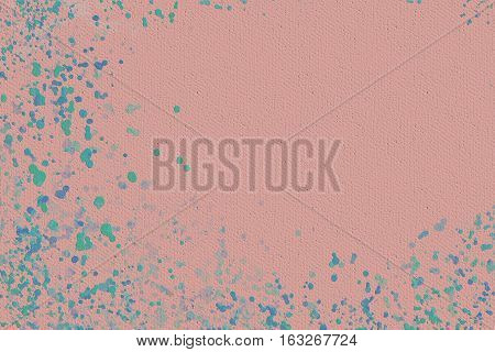Vivid  closeup texture background with  pink, blue and different  vivid  vibrant colorful creative patterns