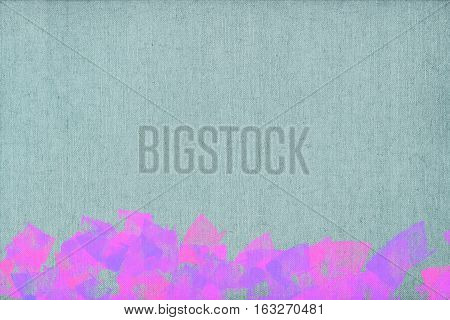Vivid  painting closeup texture background with  pink, blue  vivid  vibrant colorful creative patterns