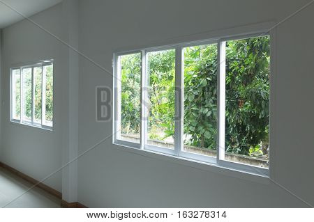 Glass Window Sliding
