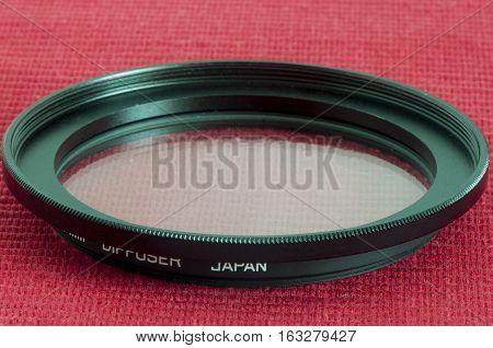 Diffuser Filter For Camera Lens