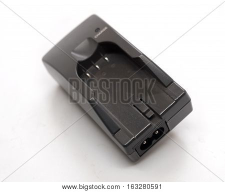unit for charging the battery on a light background