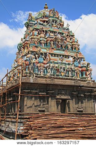hindu temple in Chennai the south India