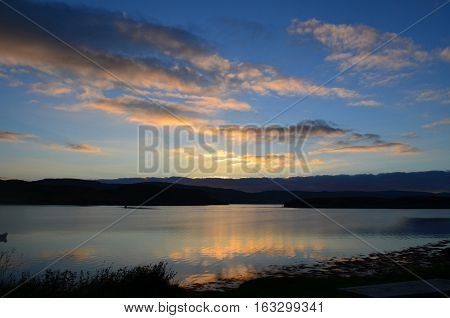Serenity and solitude over Loch Dunvegan in Scotland.