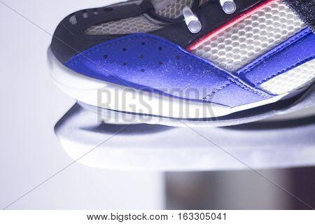 Ice Skates In Skate Store