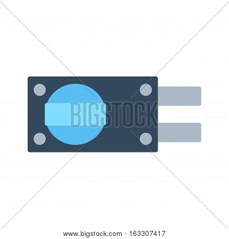 Lock iconand security protection. Safety password sign privacy element and access shape open. Private safeguard modern firewall equipment vector collection.