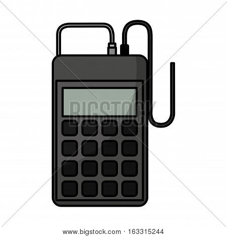 laboratory tester isolated icon vector illustration design