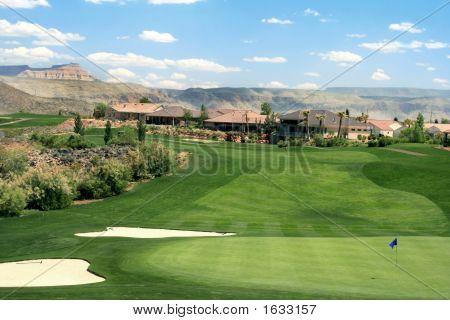 Mountain Golf Course Community