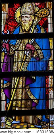 Stained Glass - Saint Dunstan