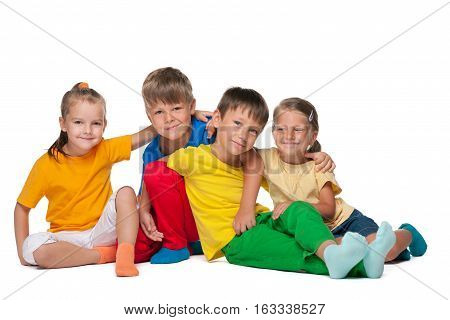 Four Cheerful Kids
