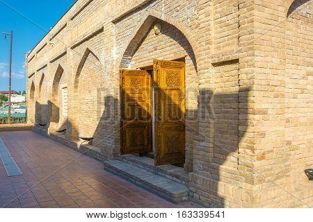 Hoja Daniyar Mausoleum In Samarkand, Uzbekistan.