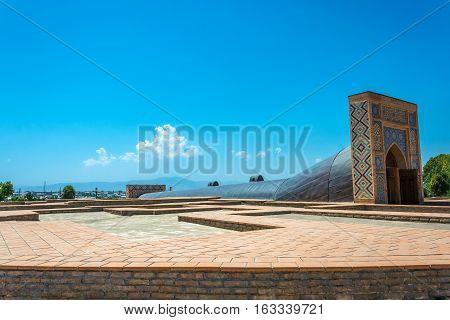 The Observatory Of Ulugbek, Samarkand, Uzbekistan.