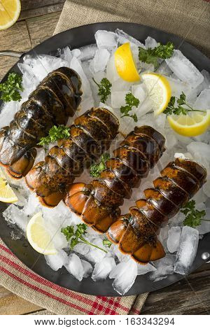 Raw Organic Fresh Lobster Tails