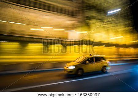 Budapest Yellow Cab