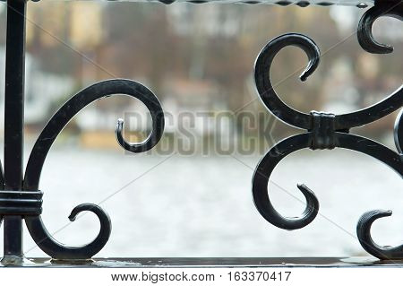 the elements of forging Metalworking wrought-iron fence