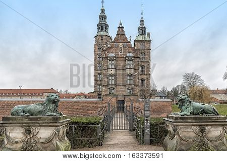 Rosenborg Castle is a renaissance castle located in Copenhagen Denmark. The castle was originally built as a country summerhouse in 1606.