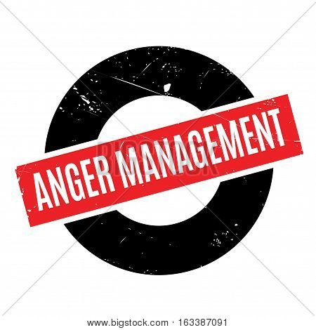 Anger Management rubber stamp. Grunge design with dust scratches. Effects can be easily removed for a clean, crisp look. Color is easily changed.