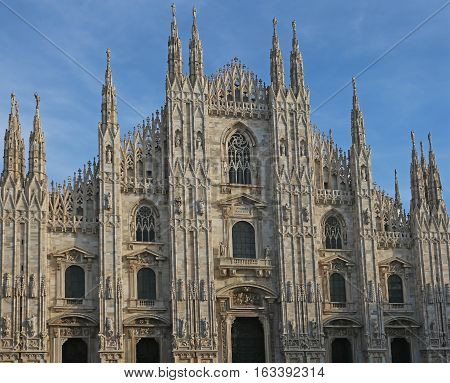 Cathedral Basilica Of The Nativity Of Saint Mary In Milano