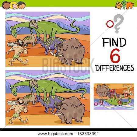 Activity Of Differences For Kids