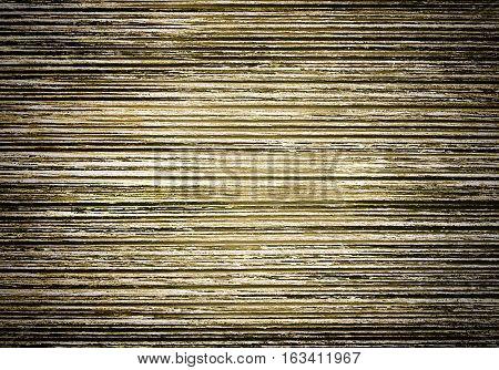 closeup shot of the finished palm wood