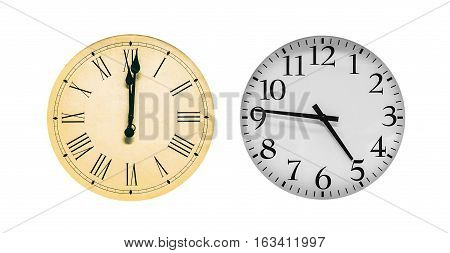 clocks set (details and color here is highly changed)