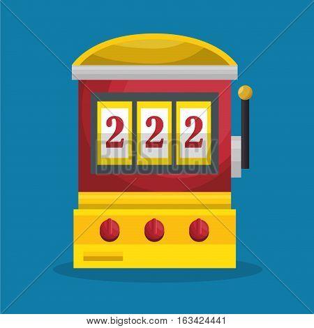 slot machine casino icon vector illustration design