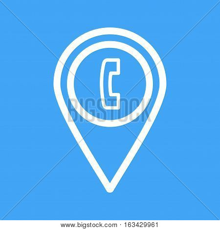 Telephone, town, street icon vector image. Can also be used for town. Suitable for web apps, mobile apps and print media.