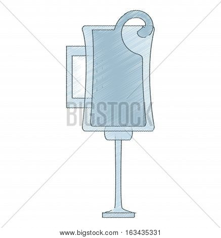 drawing glass cup handle alcohol drink vector illustration eps 10