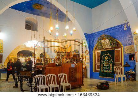 Yosef Caro Synagogue, In Safed (tzfat)