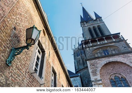 Aachen Cathedral In Aachen, Germany