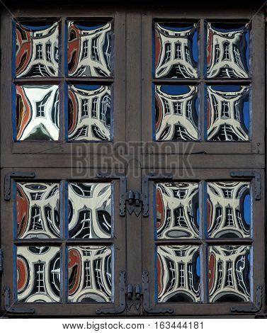 Crown Glass Windows In Aachen