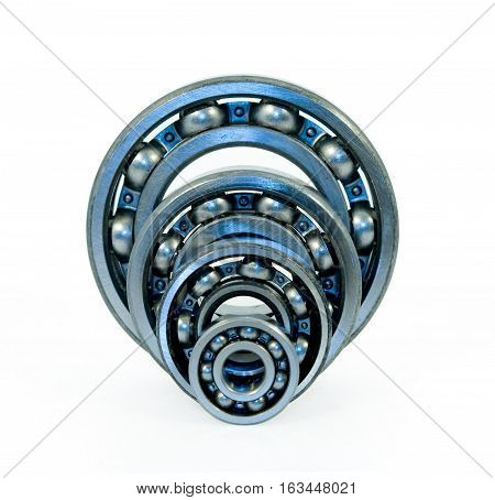 Ball bearings. A ball bearing is a type of rolling-element bearing that uses balls to maintain the separation between the bearing races.