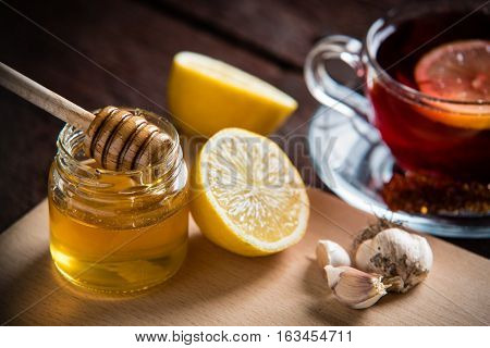 Lemon, Tea And Honey