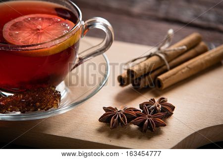 Tea, Anise And Cinnamon