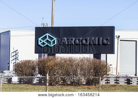 Lafayette - Circa December 2016: Arconic Forging And Extrusion Plant. Arconic Was Spun Off Of Alcoa
