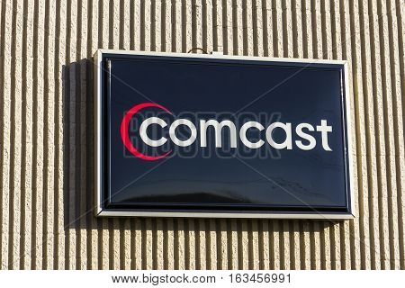 Lafayette - Circa December 2016: Comcast Service Center. Comcast is a multinational mass media company IX