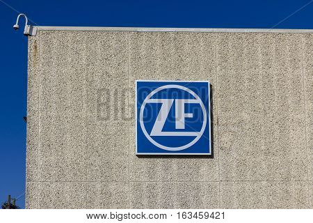 Lafayette - Circa December 2016: ZF Friedrichshafen Steering Factory. ZF Friedrichshafen acquired TRW Automotive in 2015 I